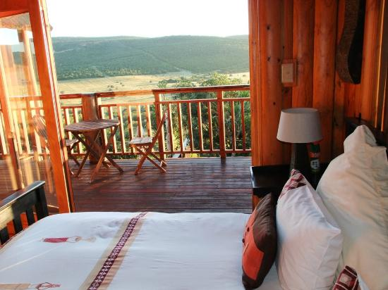 Addo Afrique Estate: View from the Serenity suite.
