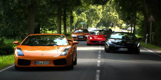 Guided Sports Car Tours by Motion Drive