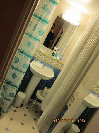 Hôtel Malar : 화장실 1