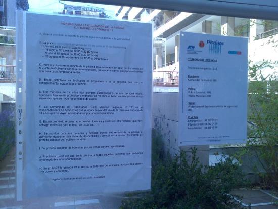 Foto de tryp madrid chamart n hotel madrid normas de la for Normas de piscina
