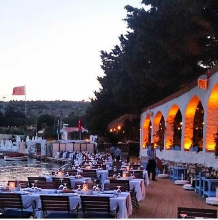 Paparazzi Beach Club: Akşam yemeğimiz