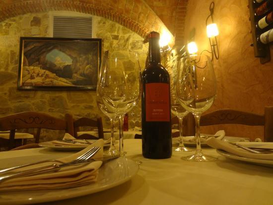 Hotel Cueva del Gato: Comedor