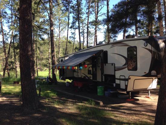 Horse Creek Inn Restaurant & Campground: RVUP3