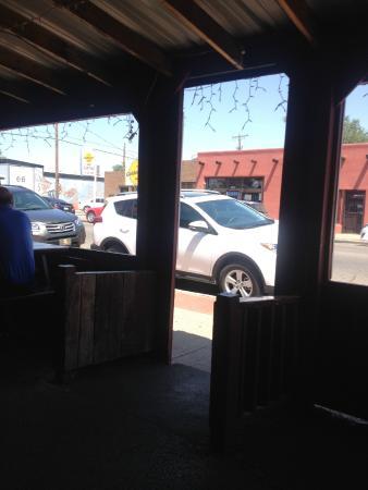 Smokey Joe's Texas Cafe: tavoli all'aperto
