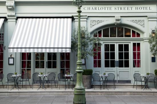Charlotte street hotel updated 2018 prices reviews for Terrace restaurant charlotte