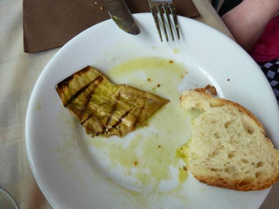 Postiglione, Włochy: Eggplant appetizer