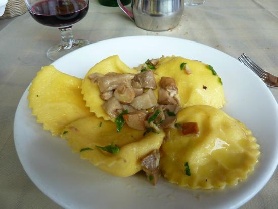 Postiglione, Włochy: Ravioli