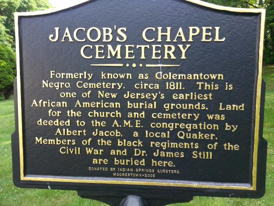 Jacobs Chapel Colemantown Foundation