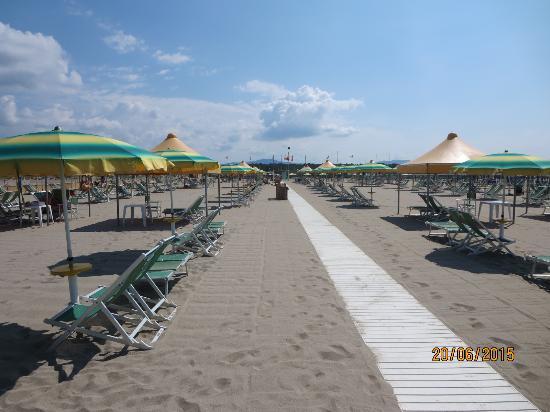 La spiaggia picture of bagno teresa viareggio tripadvisor