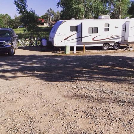 Durango KOA: Nice open spots. Quiet. Clean. Great views from everywhere. !