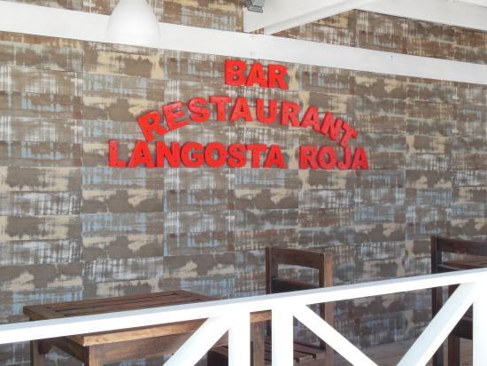 Langosta Del Caribe Restaurant : loacl food on the beach