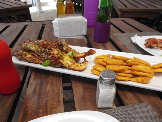 Langosta Del Caribe Restaurant : langostine
