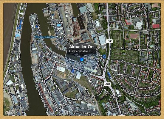 Atlantic Hotel am Flotenkiel: ^Lage des Hotels