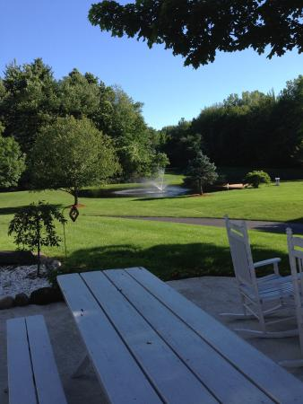 Allegan Country Inn: The great outdoors