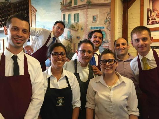 bar italia: Our Team!