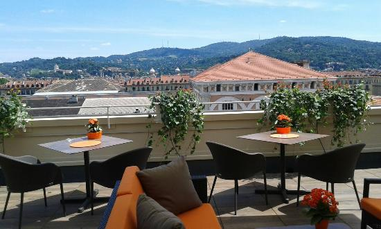 Terrazza ultimo piano - Picture of Turin Palace Hotel, Turin ...