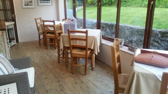 St Cleer, UK: Breakfast room