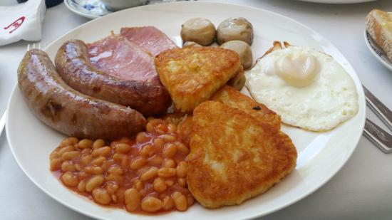 "Redgate Smithy B&B: ""Full Cornish"" breakfast"