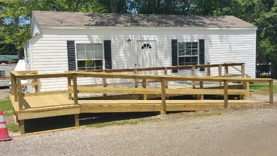 Farmhouse Exterior - Picture of Presque Isle Passage RV ...