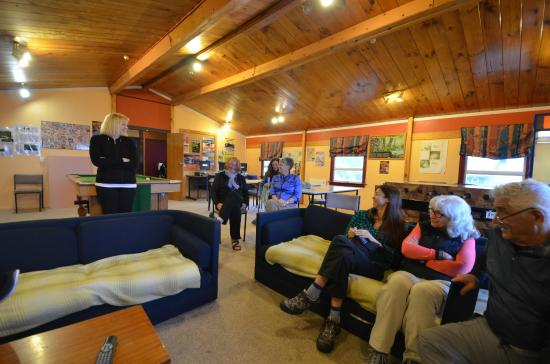 Skotel Alpine Resort: Backpacker's lounge