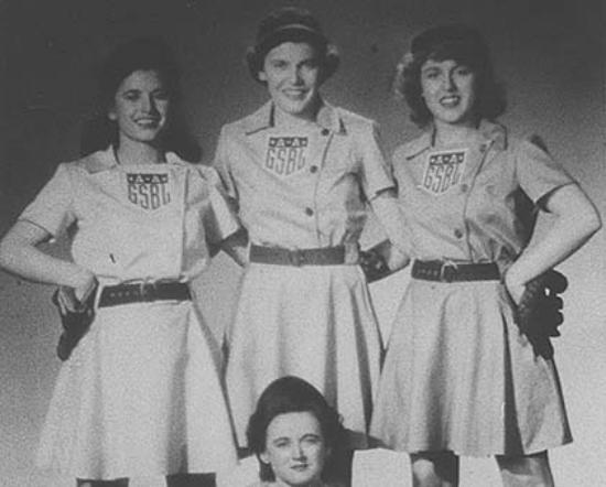 The History Museum is the national repository for the AAGPBL.