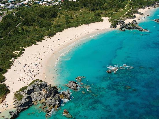 Bermuda: Traveller's Choice Award winning Horseshoe Bay Beach- South Shore, Warwick