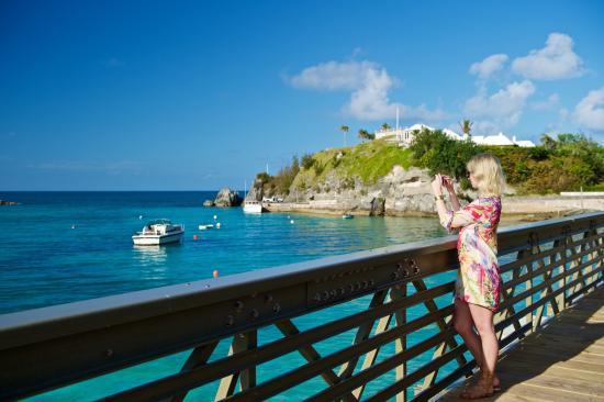 Bailey S Bay Walking Bridge Hamilton Bermuda