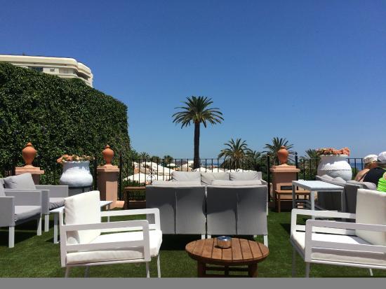 hotel fuerte marbella pool terrace