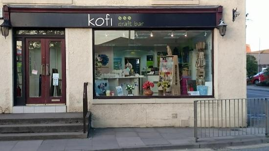 Inverurie, UK: Shop front
