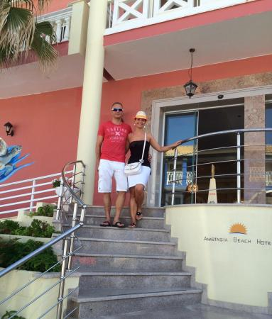 Anastasia Beach Hotel: Absolutely nice place to stay and enjoy