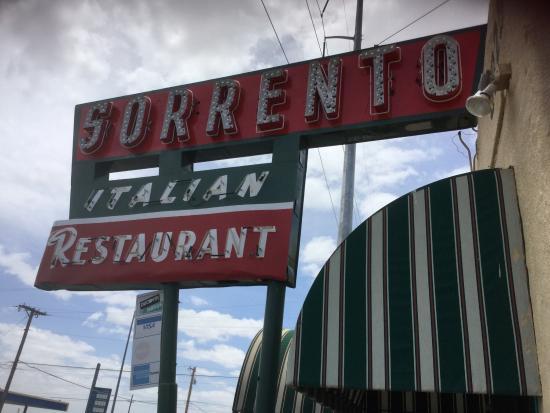 Sorrento 39 s italian restaurant picture of sorrento for Italian el paso tx