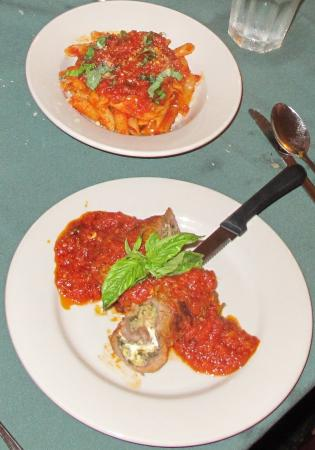 Mom and Dad's: Beef Braciole and Penne Pasta