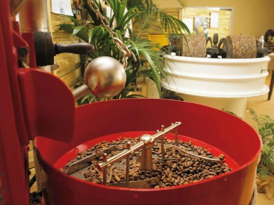 Musee du Chocolat Bovetti : Atelier de fabrication