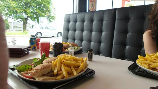 lunch express picture of lunch express mouscron tripadvisor. Black Bedroom Furniture Sets. Home Design Ideas