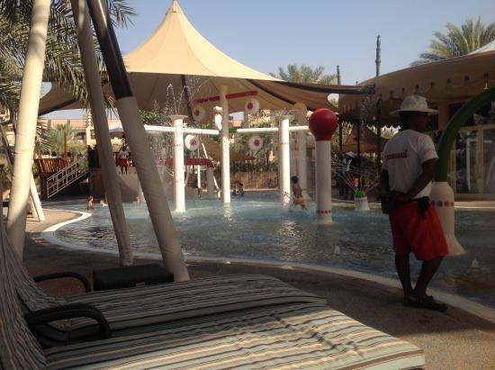Jumeirah Dar Al Masyaf: Sinbads - a lifeguard!