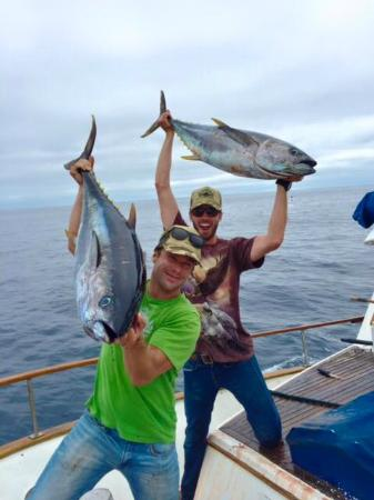 Fishing charters san diego day adventures kalifornien for San diego fishing charter