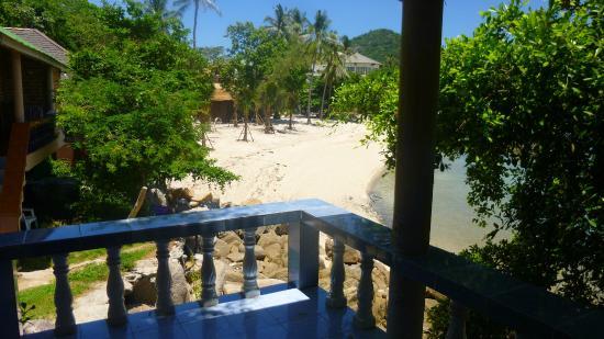 Queen Resort Koh Tao : vue du Balcon