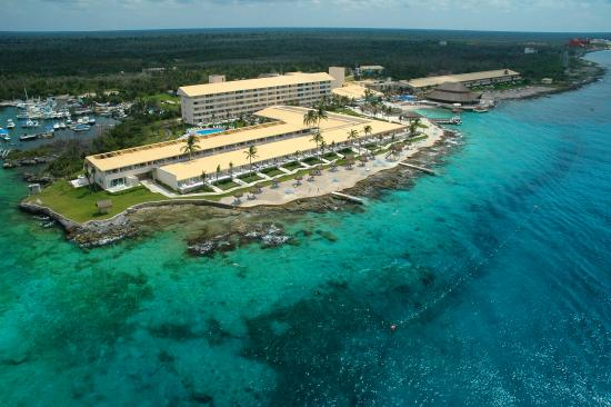 Presidente Inter-Continental Cozumel Resort & Spa: Aerea Panoramica