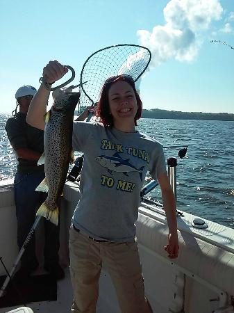 Lake Ontario Fishing Charters with Ace Charters