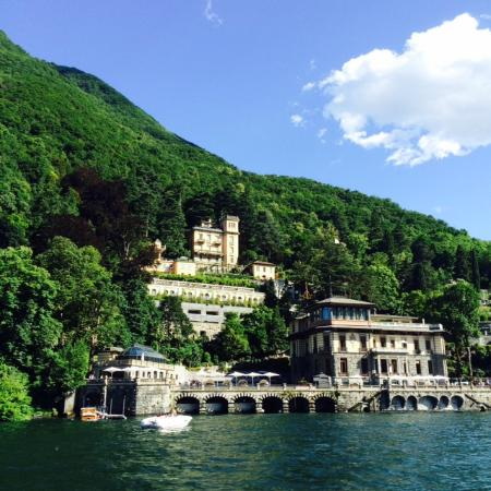 Lake view picture of casta diva resort spa blevio - Casta diva lake como italy ...