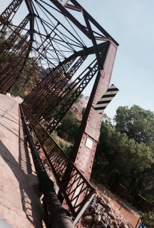 Rockville Iron Bridge - a piece of pioneering history.