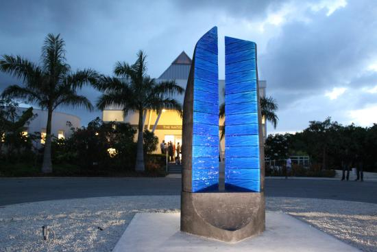 National Gallery of the Cayman Islands: The National Art Gallery - Sun setting