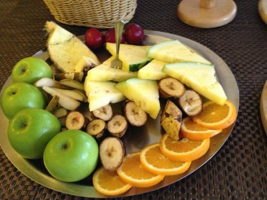 Waldhotel Wandlitz: Obstteller