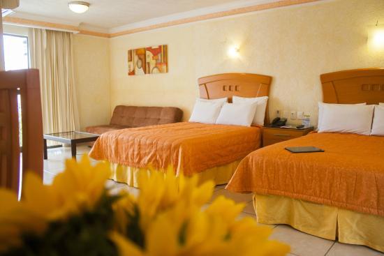 Hotel puerta del sol guadalajara mexiko omd men och for Av puerta del sol
