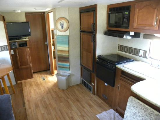 Manchester Beach KOA: Very nice RV rental