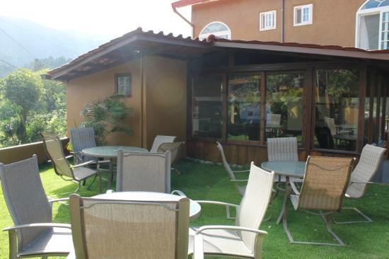 Foto de la casa de la abuela boquete nuestra terraza al for Terrazas aire libre