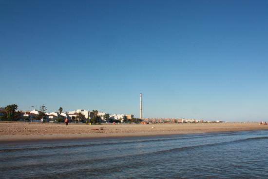 Camping La Rueda : пляж