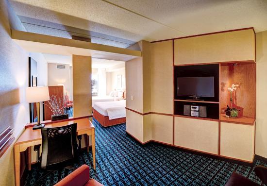 Fairfield Inn & Suites Wausau : Large Double Queen