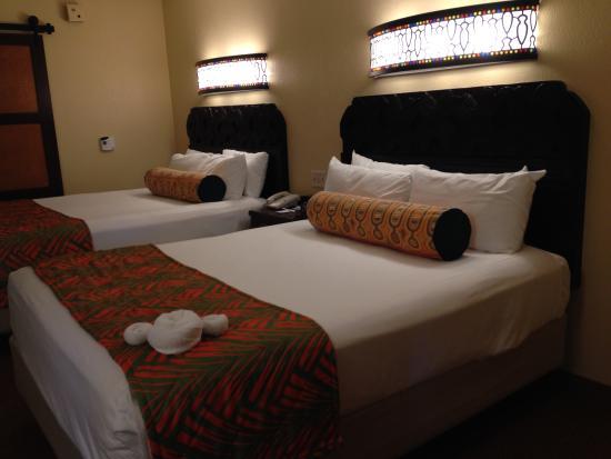 Disneys Caribbean Beach Resort Double Bed
