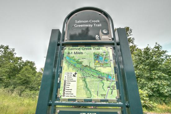 Salmon Creek Park: trail map